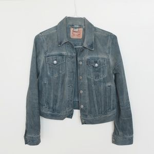 Levi's cropped denim jacket